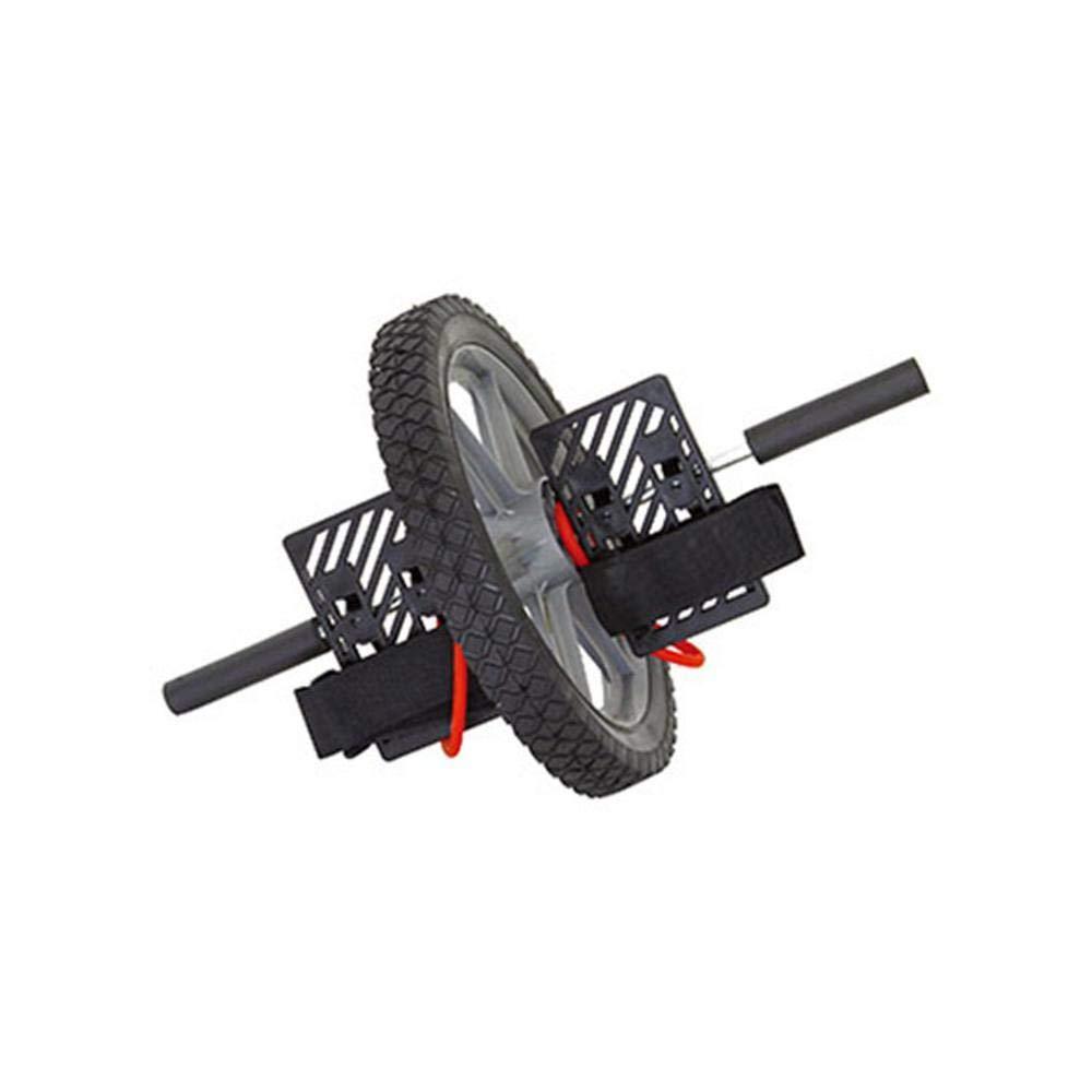 Yunfeng Abdominal Roller Doppel-Fuß Rad Multi-Funktions-hochwertige Kern üben großen Bauch Energie Rad Stärken und Straffen Sie Ihre Bauchmuskeln