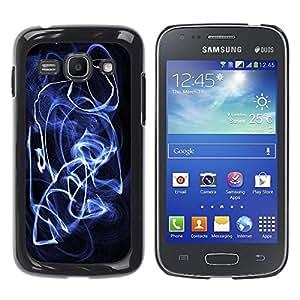 Be Good Phone Accessory // Dura Cáscara cubierta Protectora Caso Carcasa Funda de Protección para Samsung Galaxy Ace 3 GT-S7270 GT-S7275 GT-S7272 // Smoke Smoke