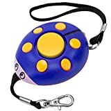 super loud personal alarm - GT ROAD Emergency Personal Alarm, 130dB Super Loud Self Defense Siren Back Up Whistle and Bag Decoration, Ideal Gift for Kids, Girls and Elderly Safety, Batteries Included (Blue/Yellow)