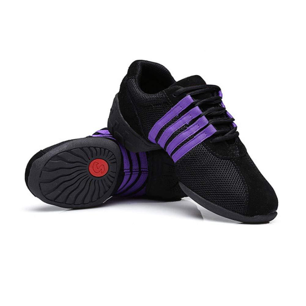 los Zapatos Son m/ás peque/ños Sal/ón de Baile Modern Jazz Soft Split Sole Mesh Teaching Practice Sneakers Unisex Xiedeai Zapatillas Calzado Deportivo Aire Libre Deportes Danza