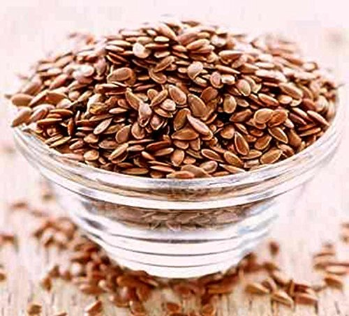 Original Alsi Linseed Flax Seeds Natural Omega-3 Veg Source 250 gm Packing