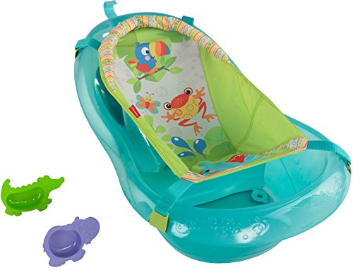 fisher price bath tub rainforest friends 11street malaysia bathing toys. Black Bedroom Furniture Sets. Home Design Ideas