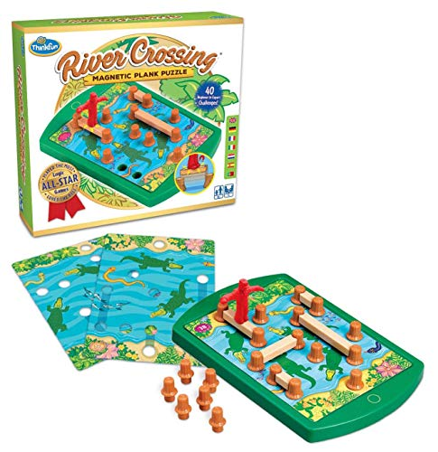 River Crossing Puzzle Game - Ravensburger 76349Thinkfun River Crossing Game
