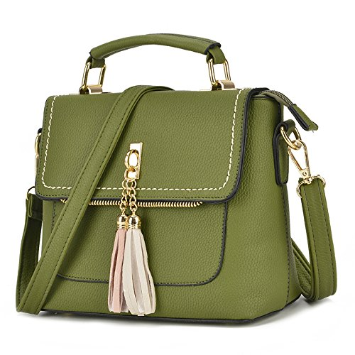 Meoaeo De Carne Estilo Bolso Rosada Match All Occidental Messenger Mujeres green Coreanas rpq7Y8r