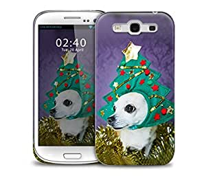 funny christmas Chihuahua Samsung Galaxy S3 GS3 protective phone case