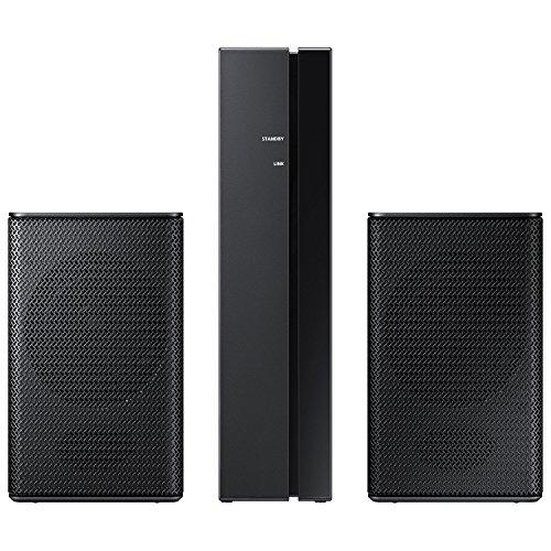 Samsung 2 Channel Wireless Rear Speakers, Black