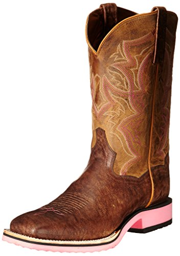 Dan Post Women's Serrano Western Boot, Tan/Bay Apache, 9.5 M US