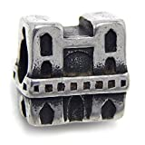 Pro Jewelry Stainless Steel Notre Dame Cathedral Bead for Bracelets