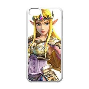iPhone 5c Cell Phone Case White Super Smash Bros Princess Zelda 013 GY9161917