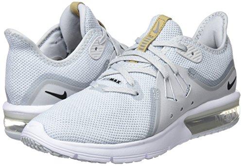 Dorado Sequent Mujer Nike white Running Air black 3 Max De 008 Platinum Zapatillas Wmns Para pure qTfzTwv
