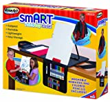 RoseArt smART Tabletop Easel with Markers and Pencils Included, Packaging May Vary