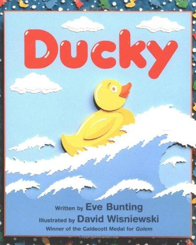 ducky eve bunting david wisniewski 9780618432400 amazon com books