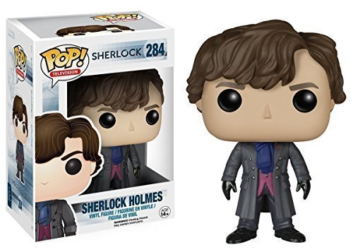 Funko POP TV 3 3/4 Inch Sherlock Sherlock Holmes Action Figure Dolls Toys by Funko POP