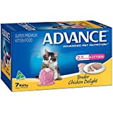 Advance Kitten Tender Chicken Food Pack, 7 Piece