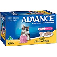 Advance Kitten Tender Chicken Food Pack, 7 Piece