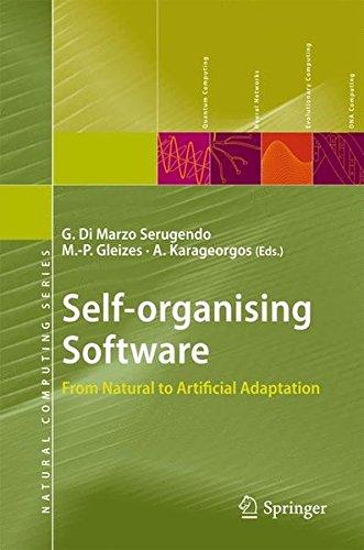 Self-organising Software: From Natural To Artificial Adaptation (Natural Computing Series)