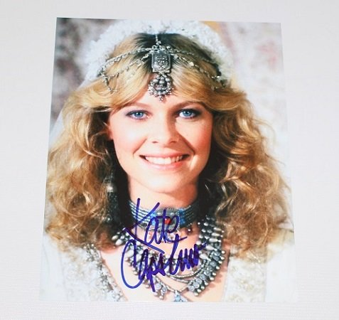(Indiana Jones and the Temple of Doom Kate Capshaw Hand Signed Autographed 8x10 Glossy Photo Loa)