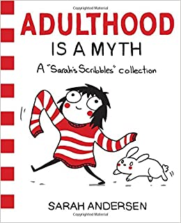 Image result for adulthood is a myth book cover