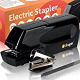 Jiraph Electric Stapler with Staple Remover and 25-Sheet Capacity (Loaded with Staples)