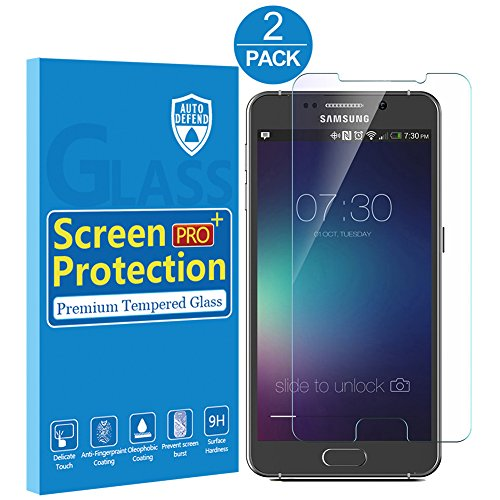 Price comparison product image LMirror Ultra-Thin Anti Scratch Tempered Glass Screen Protector for Samsung Galaxy Note 5 (2 Pack)