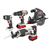 Deals on 4-Tool Porter-Cable Cordless Drill Combo Kit PCCK614L4