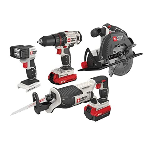 porter cable power tools. porter-cable pcck614l4 20v max lithium ion 4-tool combo kit porter cable power tools 1