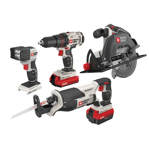Combo Power (Porter-Cable PCCK614L4 Power Tool Combo Kit)