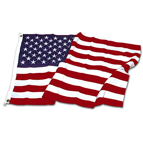 Online Stores Super Tough Brand Polyester US Flag, 3 by 5-Fe