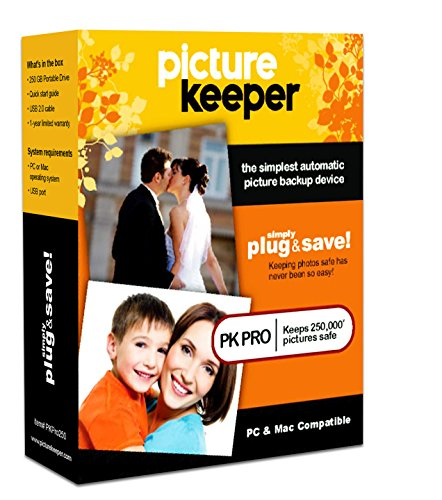 Picture Keeper Pro 320GB Photo Backup Device