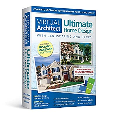 Virtual Architect Ultimate Home Design with Landscaping and Decks 8.0