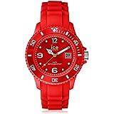Ice-Watch Sili Collection SI.RD.S.S.09 - Reloj unisex de cuarzo, correa de silicona color rojo