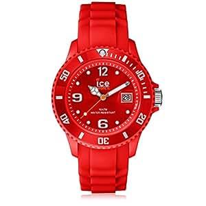 Ice-Watch Sili Collection SI.RD.B.S.09 - Reloj unisex de cuarzo, correa de silicona color rojo