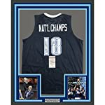 87e79dc98f4 Framed Autographed Signed 2018 Villanova Wildcats Team 6 Autos 33x42 Blue  College.