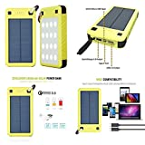 GOOD MEDIA 26800Mah Solar Charger Solarjuice Usb-C/Qc 3.0 Portable Battery Power Waterproof ✅