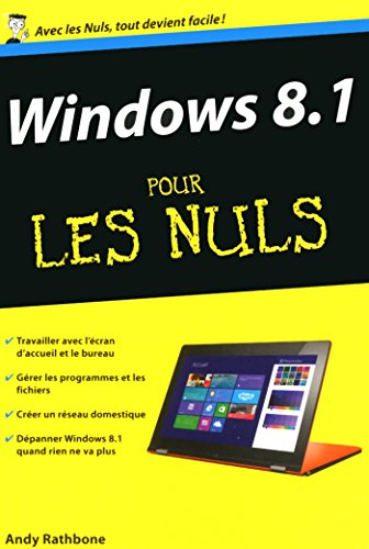 Amazon Com Windows 8 1 Poche Pour Les Nuls Poche Nuls