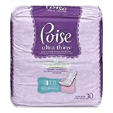 Health & Personal Care : Poise Ultra Thins Light Absorbency Regular Length - 30 Ea (Pack of 3)
