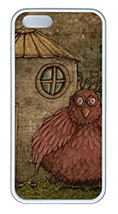 iPhone 5S Case, iPhone 5 Cover, iPhone 5S Bird 14 Soft Cases