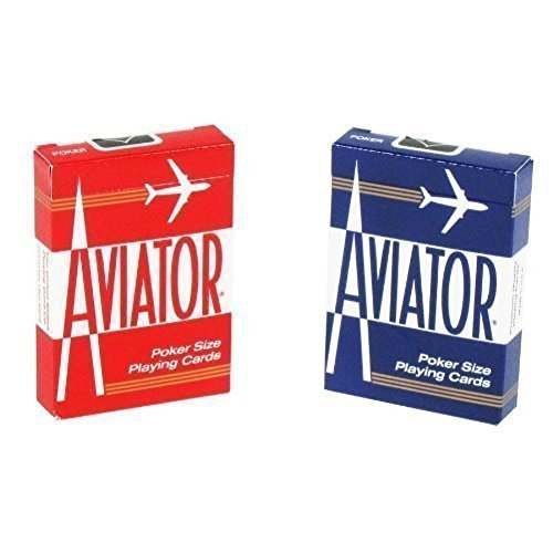 Aviator Poker Size Playing Cards (2-Pack of - Aviator Deals
