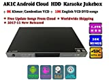 ACEUME AK1C16 Android Cloud ECHO HDD Karaoke Jukebox/Player with 9K Khmer/Cambodian 19K English Song 1.5TB HDD,2017 December updated,4K,Cloud Download, KODI, Watch TV, Select Songs Via Mobile Device.