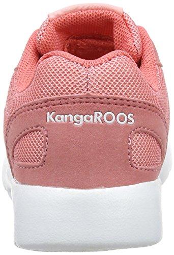 KangaROOS Nihu, Zapatillas Unisex Niños Rot (MAUVE Glow/White)