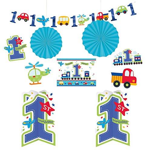 Train Birthday Decoration Ideas (