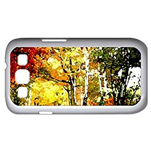 AUTUMN TUNNEL (Amusement Parks Series) Watercolor style - Case Cover For Samsung Galaxy S3 i9300 (White)