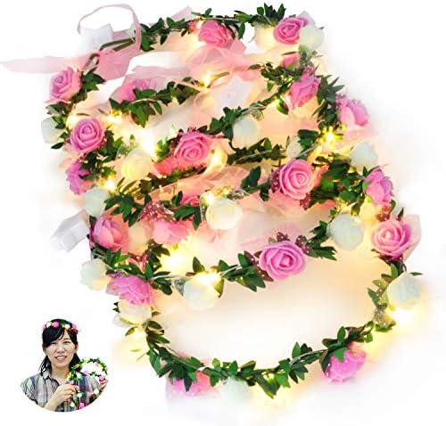 Novelty Place Light Flower Headband product image