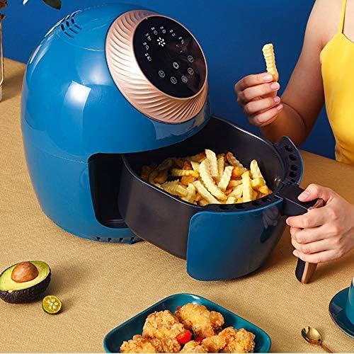 CYzpf Friteuse Électrique sans Huile Portable Capacité de 3,5 L Air Fryer Multifonction Ustensile de Cuisine Appareils pour Une Cuisson Saine ou Faible en Gras