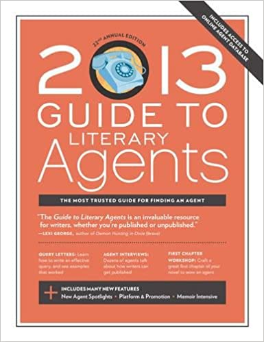 Amazon com: 2013 Guide to Literary Agents (9781599635972): Chuck