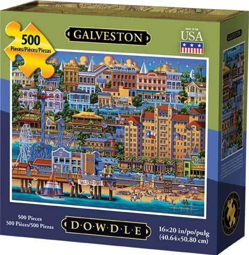 Dowdle Jigsaw Puzzle - Galveston - 500 Piece