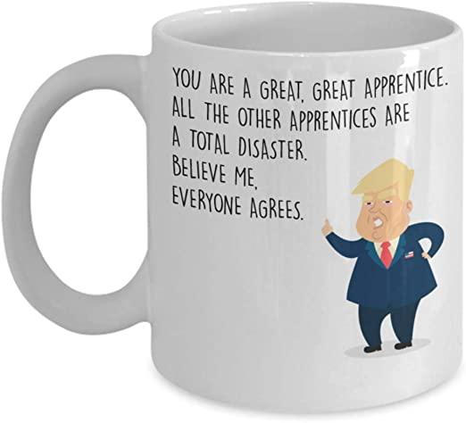 Funny Novelty Gift President Donald Trump Great Law Student Coffee Mug