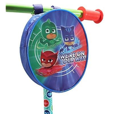 PlayWheels PJ Masks 3-Wheel Scooter - Beginner Kick Scooter for Kids : Sports & Outdoors