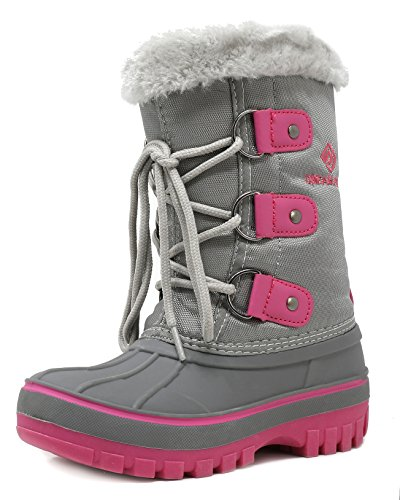 DREAM-PAIRS-Boys-Girls-ToddlerLittle-KidBig-Kid-Faux-Fur-Lined-Ankle-Winter-Snow-Boots