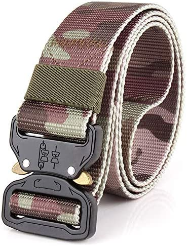 Outdoor tactical camouflage belt Multifunctional nylon military training outer belt Outdoor training belt 3.8CM / Outdoor tactical camouflage belt Multifunctional nylon military training outer belt Outdoor training belt 3.8CM